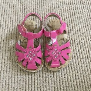 Stride Rite Pink Girls Sandals